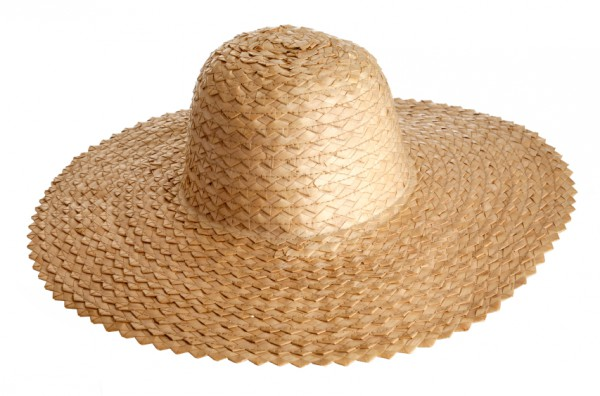 Strohhut mit UV Schutz
