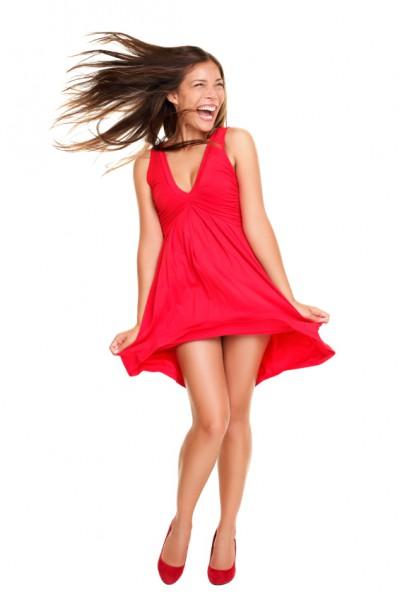 Strandkleid Short Red
