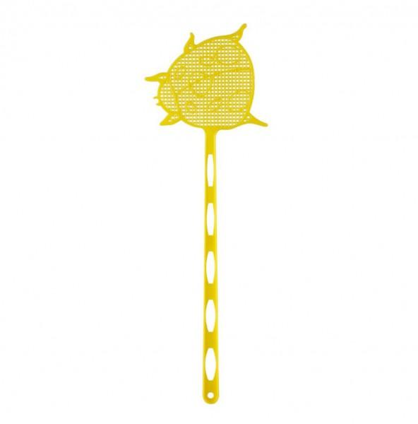 Fliegenklatsche gelb